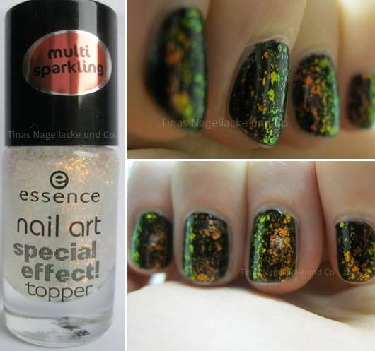 essence nail art special effect topper, Farbe: 08 night in vegas