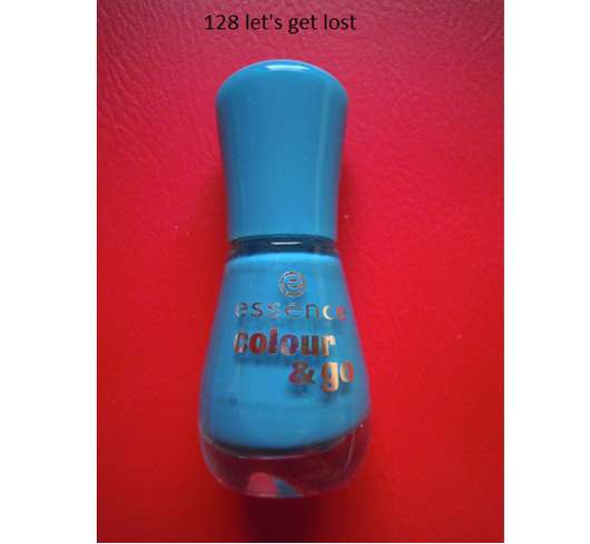 essence colour & go nail polish, Farbe: 128 let's get lost