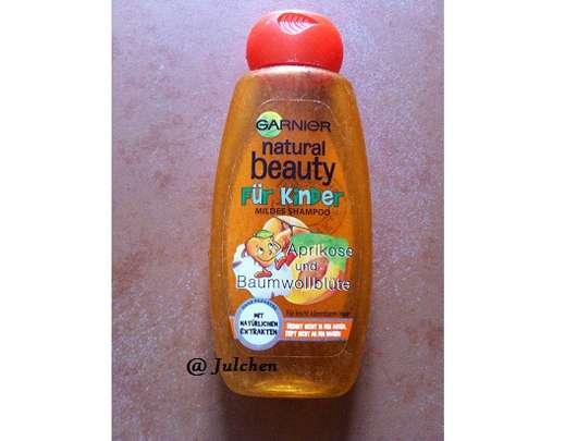 <strong>Garnier Natural Beauty</strong> Für Kinder Mildes Shampoo Aprikose und Baumwollblüte