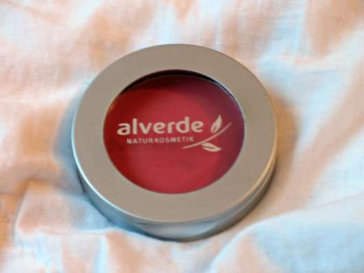 alverde Cream To Powder Rouge, Farbe: 20 Winter Rose (Black & Red LE)