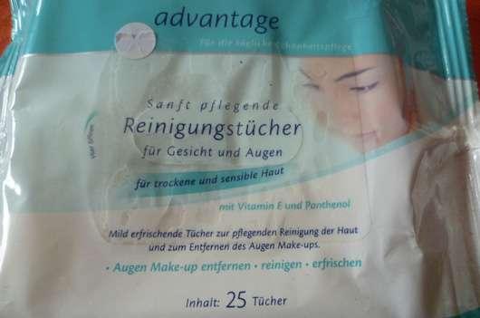 advantage Sanft Pflegende Reinigungstücher (trockene und sensible Haut)