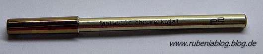 p2 fantastic chrome kajal, Farbe: 010 golden amber