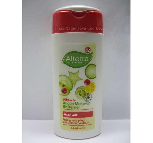 Alterra Vitamin Augen Make-up Entferner