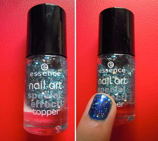 essence nail art special effect topper, Farbe 10 glorious aquarius