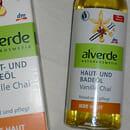 alverde Haut- und Badeöl Vanille Chai (LE)