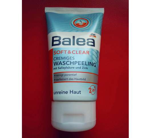 Balea Soft & Clear Cremiges Waschpeeling