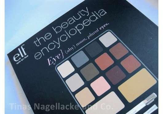 <strong>e.l.f. Cosmetics</strong> the beauty encycolopedia (Beauty Lexikon)