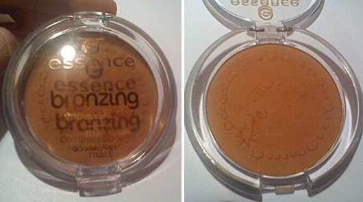 essence bronzing compact powder matt, Farbe: 02 love to be matt