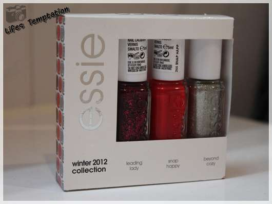 essie winter 2012 collection mini set
