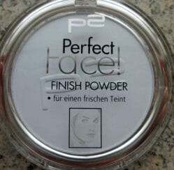 Produktbild zu p2 cosmetics perfect face finish powder – Farbe: 020 blue refresher