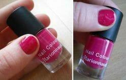 Produktbild zu Marionnaud Nail Polish – Farbe: 7 Pink Cherry