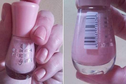 essence nude glam nail polish, Farbe: 02 iced strawberry cream