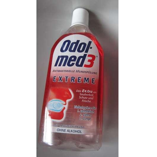 """<strong>Odol-med 3</strong> Antibakterielle Mundspülung """"Extreme"""""""
