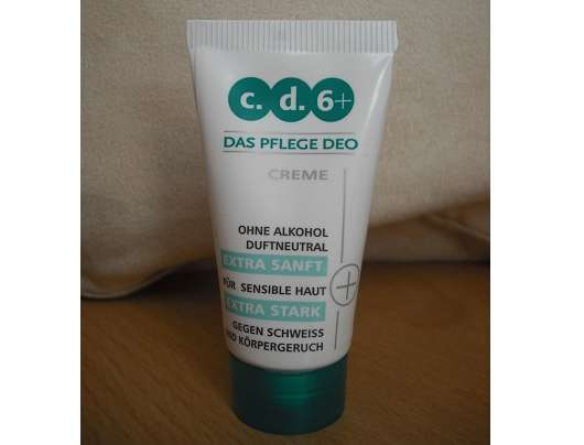 <strong>c.d.6+</strong> Das Pflege Deo Creme