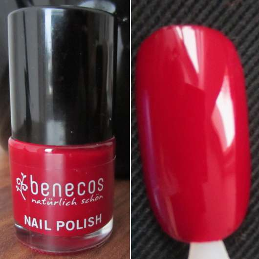 <strong>benecos</strong> Nail Polish - Farbe: red cherry