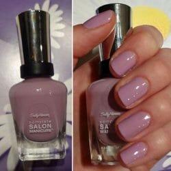 Produktbild zu Sally Hansen Complete Salon Manicure Nagellack – Farbe: 406 Purple Heart