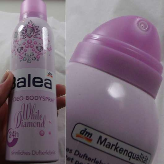 Balea Deo-Bodyspray White Diamond