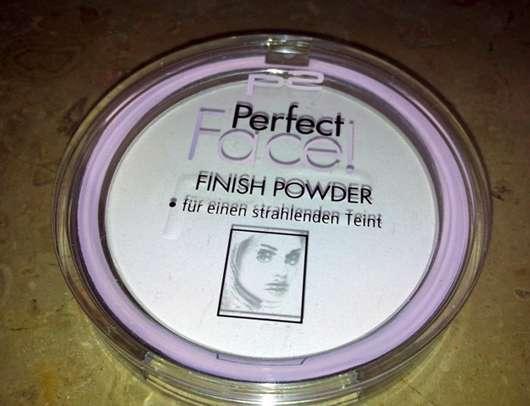 p2 perfect face finish powder, Farbe: 010 white brilliance