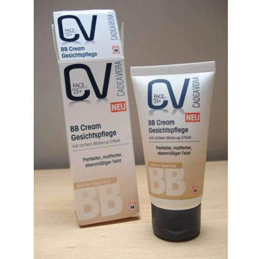 <strong>CV CadeaVera Face 25+</strong> BB Cream Gesichtspflege (Heller Hauttyp)