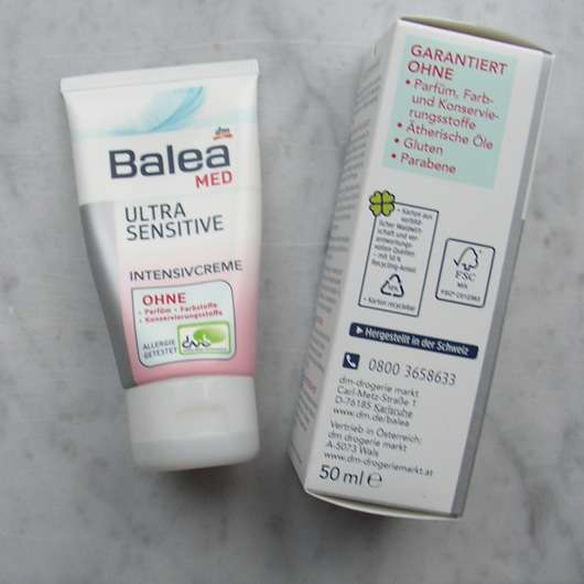 Balea Med Ultra Sensitive Intensivcreme