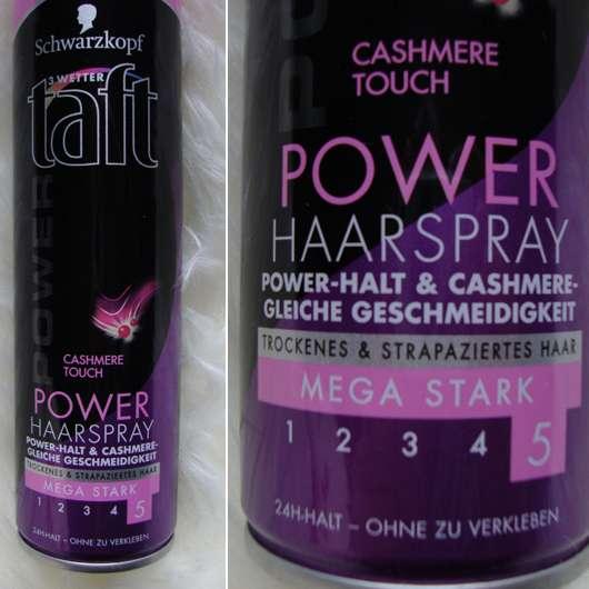 Schwarzkopf 3 Wetter taft Cashmere Touch Power Haarspray