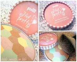 Produktbild zu p2 cosmetics I feel pretty perfectly happy correction powder (LE)