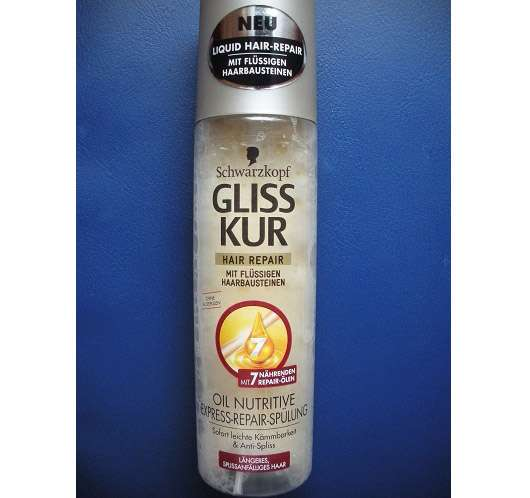 Schwarzkopf GLISS KUR Hair Oil Nutritive Express-Repair-Spülung