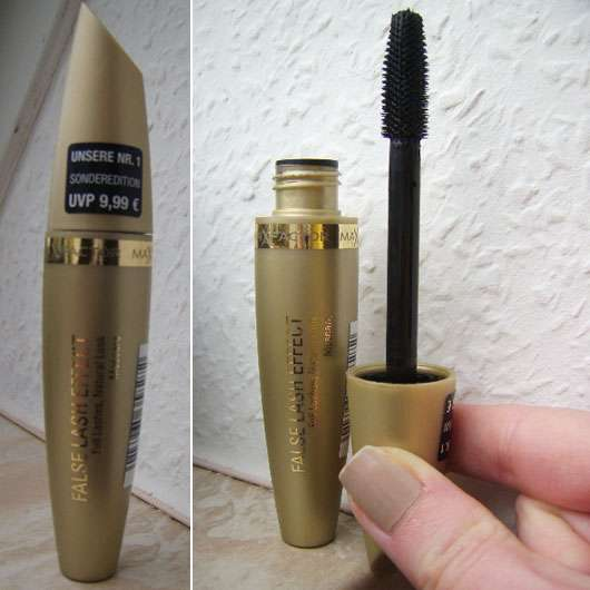 Max Factor False Lash Effect Mascara, Farbe: Black (Gold Edition)