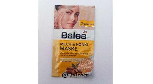 """Balea Milch & Honig Maske """"Regenerierend"""" (mit Mandelmilch)"""