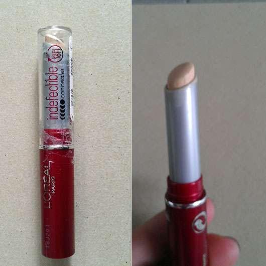 L'Oréal Paris Indefectible Make-Up Concealer, Farbe: 01 Vanilla