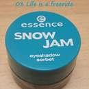 essence snow jam eyeshadow sorbet, Farbe: 03 life is a freeride (LE)