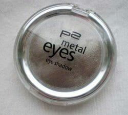 Produktbild zu p2 cosmetics metal eyes eye shadow – Farbe: 020 taupe elephant