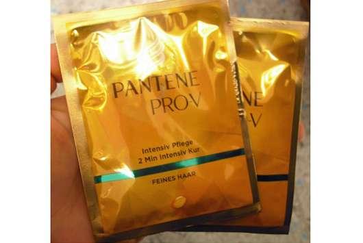 <strong>PANTENE PRO-V</strong> Intensiv Glanz 2 Min Aufbau Maske (feines Haar)