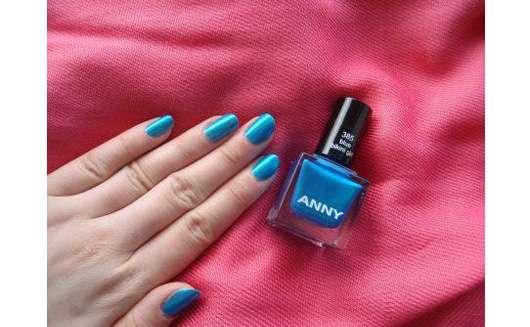 ANNY Nagellack, Farbe: 385 Blue Bikini Girl