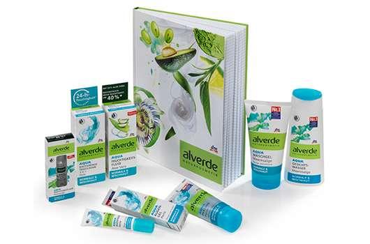 10 x 1 alverde NATURKOSMETIK Aqua Gesichtspflege-Set zu gewinnen