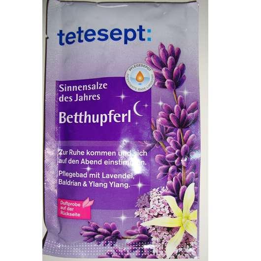 "tetesept Sinnensalze des Jahres ""Betthupferl"""