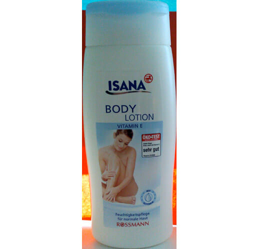 ISANA Body Lotion Vitamin E
