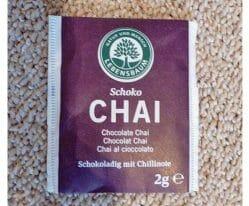 Produktbild zu Lebensbaum Schoko Chai Tee
