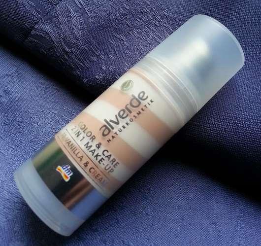 alverde Color & Care 2in1 Make-Up, Nuance: 10 Vanilla & Cream