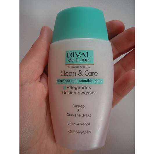 Rival de Loop Clean & Care Pflegendes Gesichtswasser