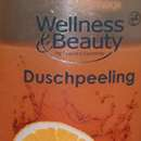 Wellness & Beauty Duschpeeling Orange & Granatapfel