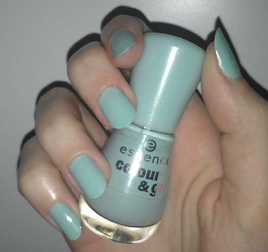 essence colour & go nail polish, Farbe: 146 that's what I mint!