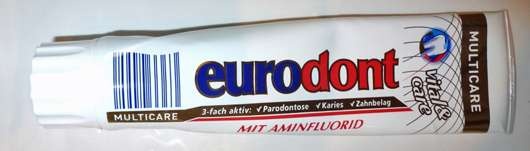 <strong>eurodont</strong> Multicare Zahncreme