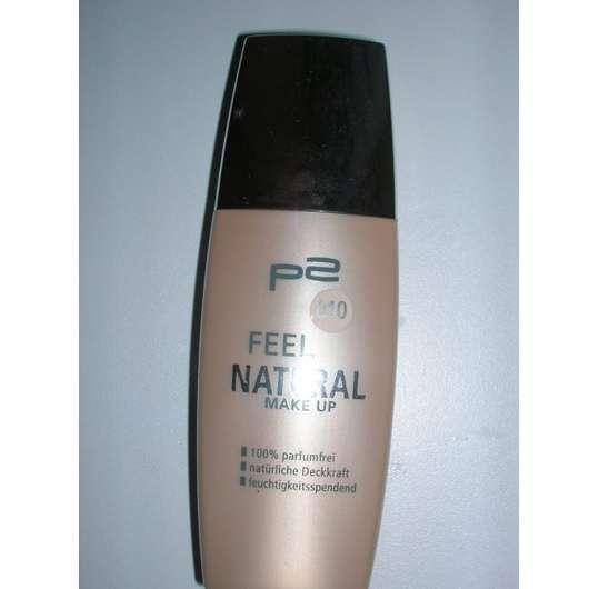 p2 feel natural make-up, Nuance: 010 natural rose