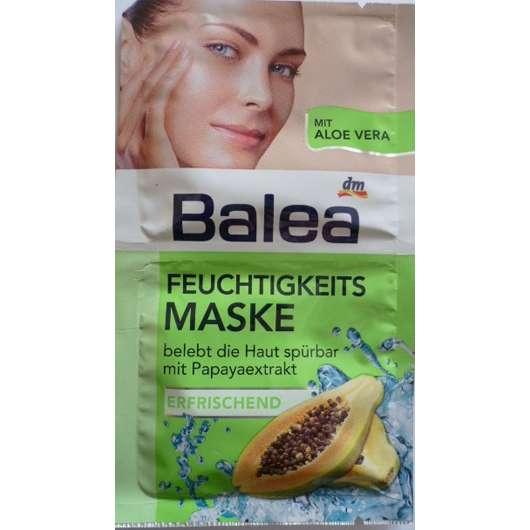 Balea Feuchtigkeitsmaske mit Papayaextrakt