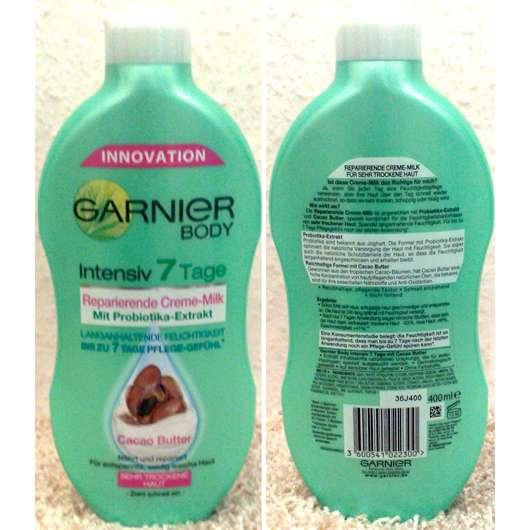 Garnier Body Intensiv 7 Tage Reparierende Creme-Milk mit Cacao Butter