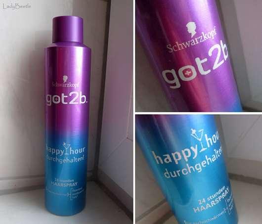 got2b happy hour durchgehalten! 24 Stunden Haarspray