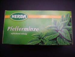 Produktbild zu Herba Pfefferminze Tee