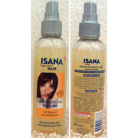 ISANA Hair Express-Spülung Oil-Care