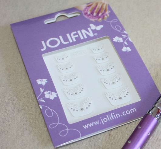 <strong>Jolifin</strong> Nailart Sticker - Design: Easy French 1